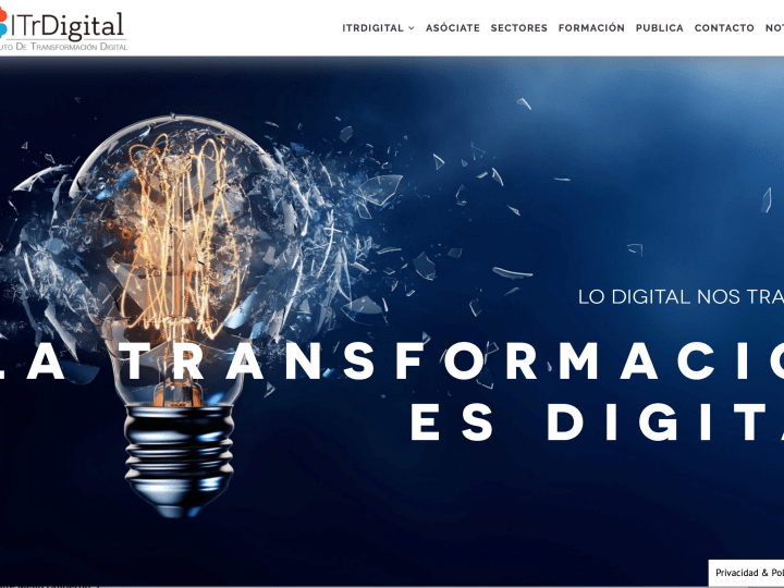 Instituto de Transformación Digital - Diseño web y Blog
